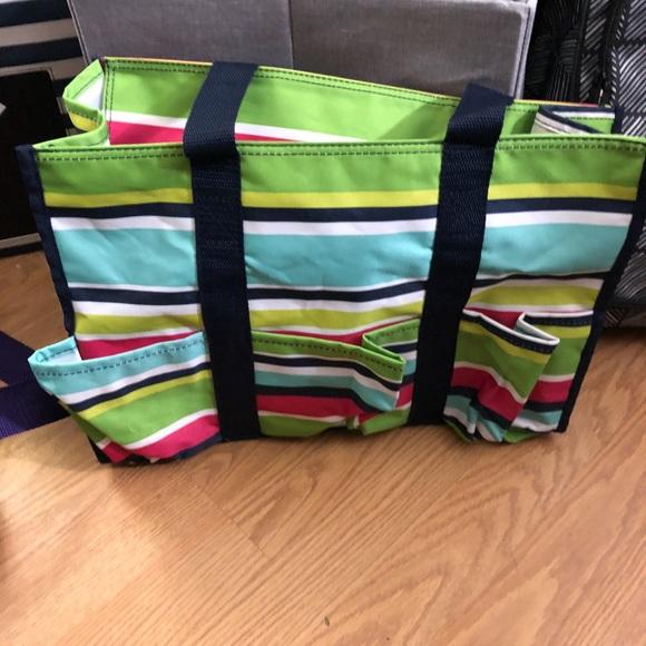 Thirty One Bags Zip Top Organizing Utility Tote Poshmark